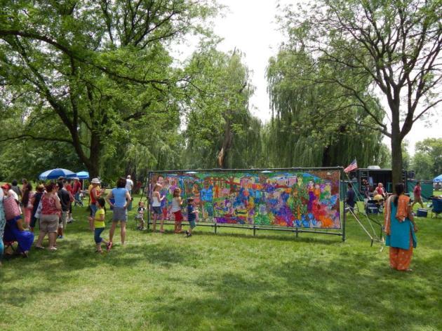 7-4-2013 Cantigny mural 2