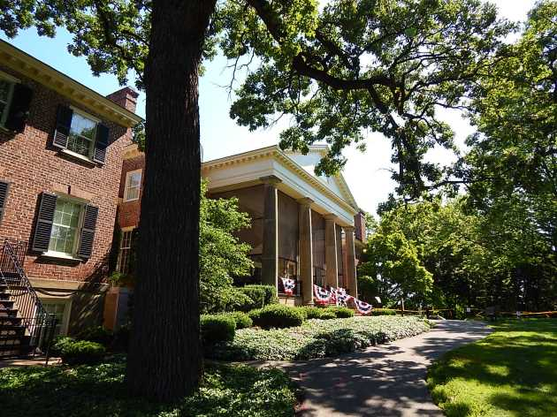south entrance McCormick Mansion