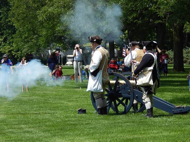 cannon fire