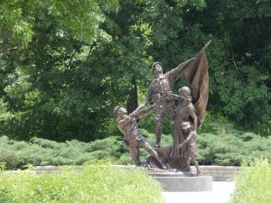 """The Spirit of Commitment"" by Jeff Adams - Cantigny - Wheaton IL"