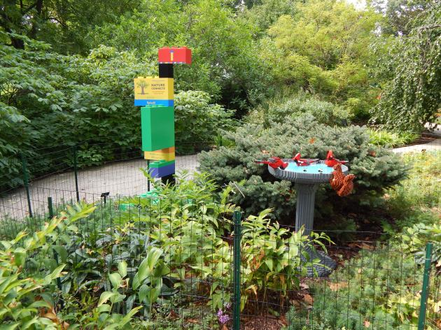 In case you missed plastic during this montage here is a Lego Bird scuplture by Sean Kenney