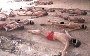 the work of Syrian President Bashar al Assad, a widow and orphan maker
