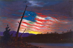 Our Banner by Frederich Edwin Church