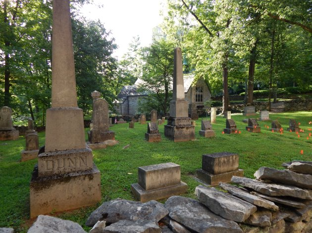 Chapel & Cemetery ©Ann Johnson Kingdom Venturers