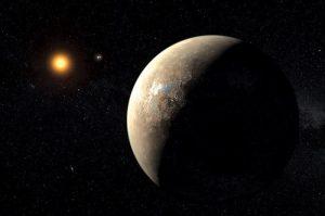 the exoplanet Proxima Centauri b. Credit: ESO, M. KORNMESSER
