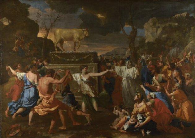 nicolas-poussin-the-adoration-of-the-golden-calf