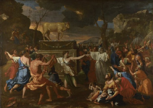 nicolas-poussin-the-adoration-of-the-golden-calf